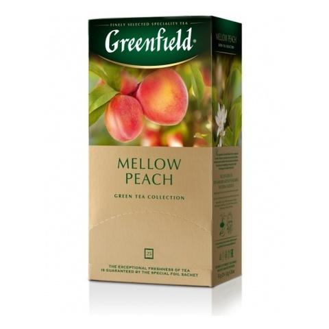 Зеленый чай «Greenfield» Mellow Peach 25 п