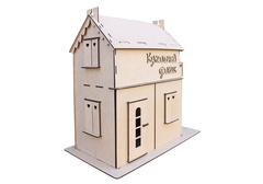 Кукольный домик с балконом из фанеры