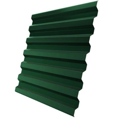 Профнастил С21х1051 мм RAL 6005 Зеленый мох двухсторонний