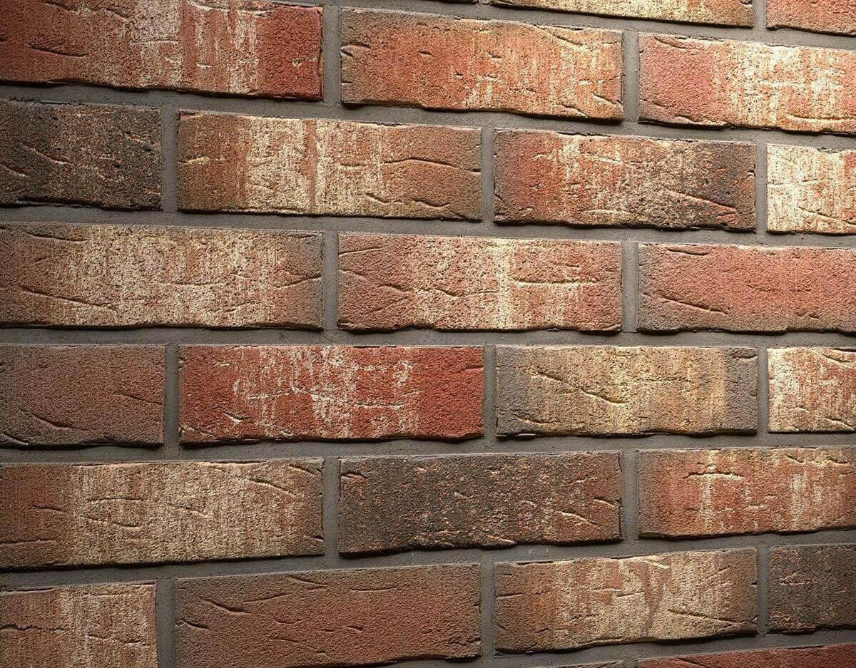 Плитка-клинкер под кирпич Feldhaus Klinker, Sintra, R658NF14, ручная формовка, ardor belino