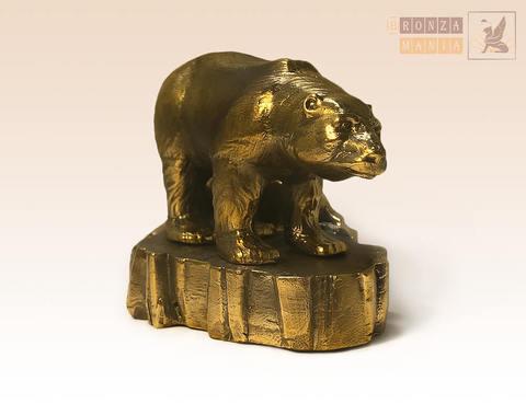 статуэтка Медведь белый