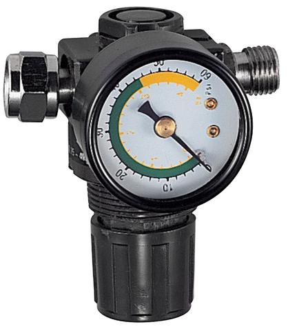 Регулятор воздуха с манометром для