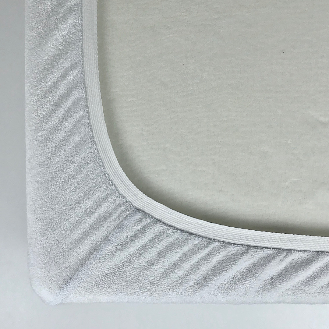 STANDART - Односпальная махровая простыня на резинке 80х180
