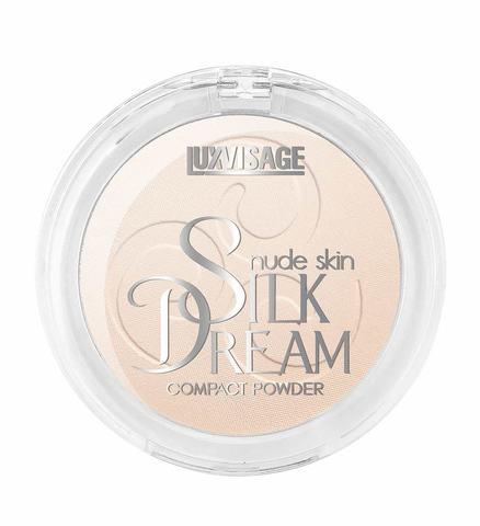 LuxVisage Silk Dream nude skin Пудра компактная тон 3 (Слоновая кость)