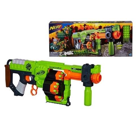 Hasbro: Nerf. N-strike: Бластер Зомби Ордовик B1532 — Nerf Zombie Strike doominator — Нерф Нёрф Хасбро
