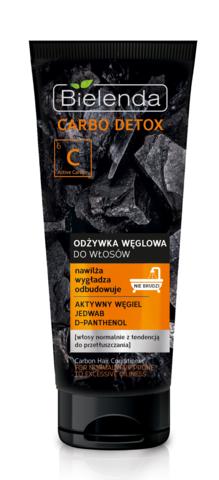 CARBO DETOX Угольное питательное средство для волос (кондиционер) 200гр