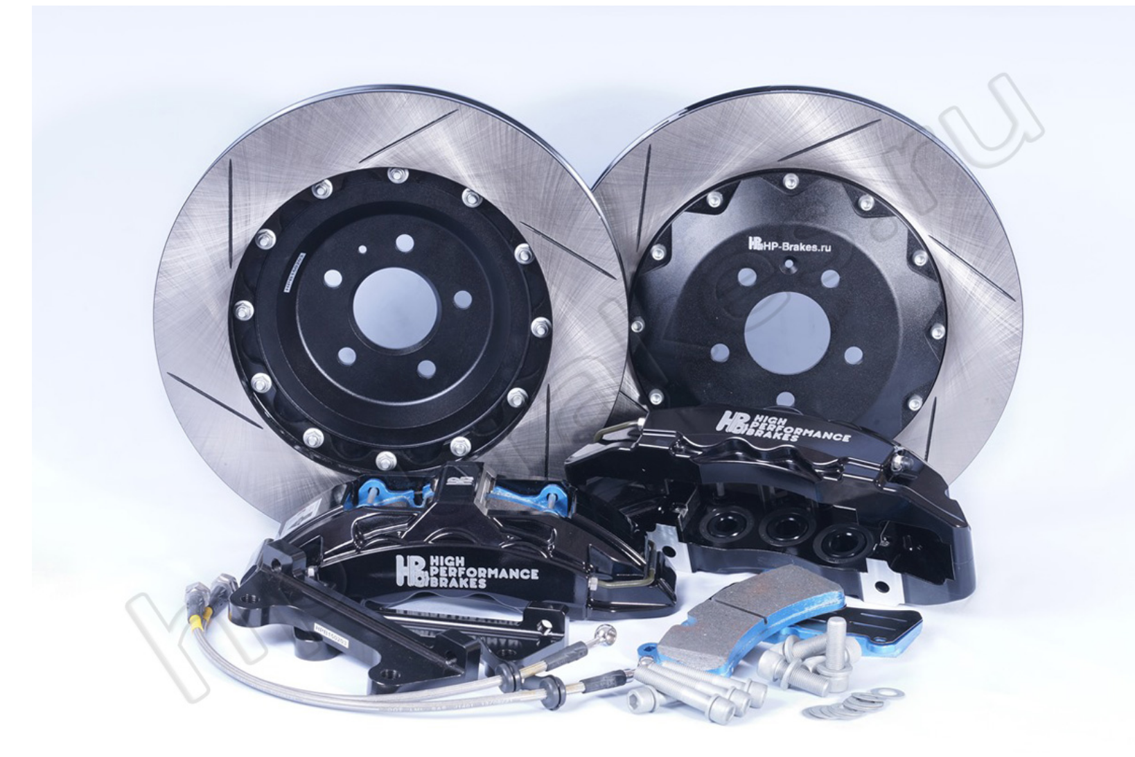 Тормозная система HP Brakes (Передняя ось, D19, 6 поршней, диск 380х34мм)