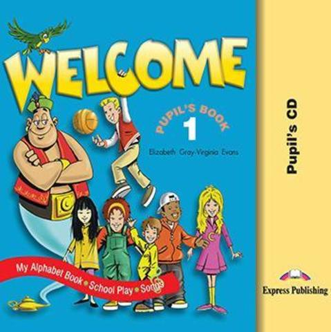 WELCOME 1 Student's CD (SONGS.PLAY)