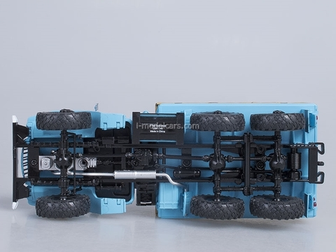 Ural-375D board with awning blue 1:43 Start Scale Models (SSM)