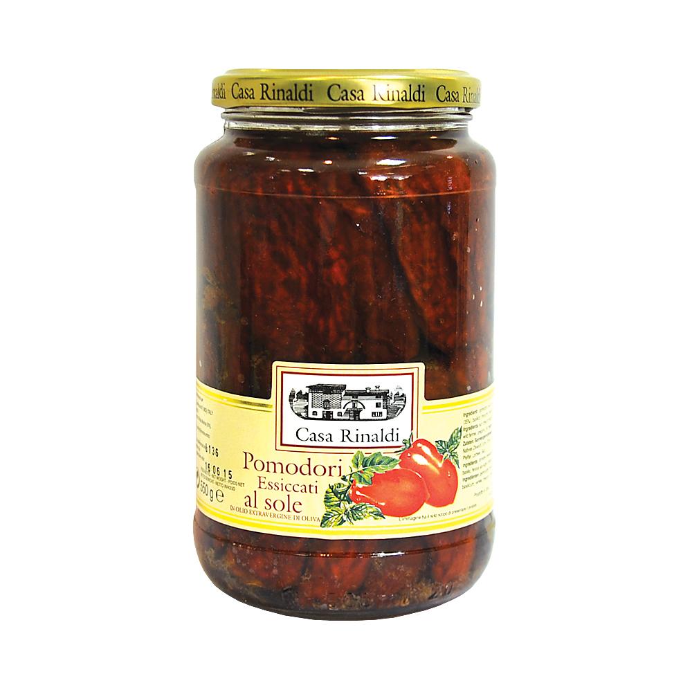Помидоры Casa Rinaldi сушеные в оливковом масле Extra Virgine 550 г