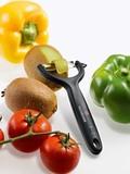 Нож для чистки томатов и киви VICTORINOX чёрный (7.6079)