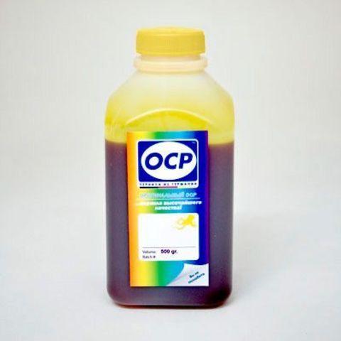 Чернила водные желтые OCP Y9142 для HP 72 - 500 мл