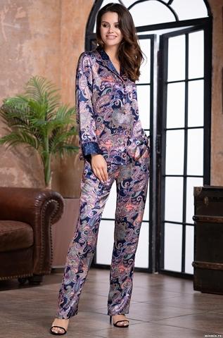 Женская пижама с брюками Mia-Amore ETTRO 3506 (70% нат. шелк)