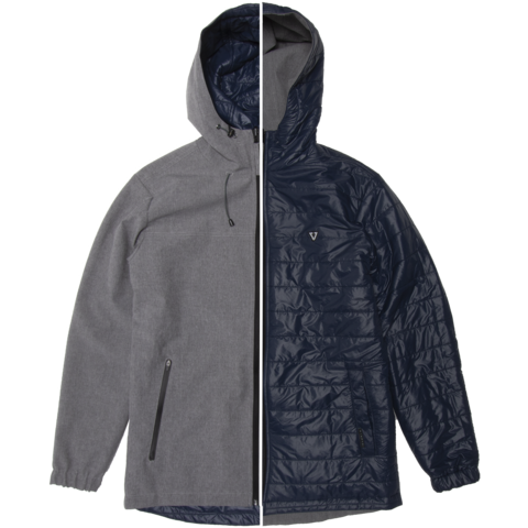 VISSLA North Seas 5K Reversible Jacket