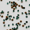 1028 Стразы Сваровски Emerald PP 13 (1,9-2 мм), 10 штук (2)