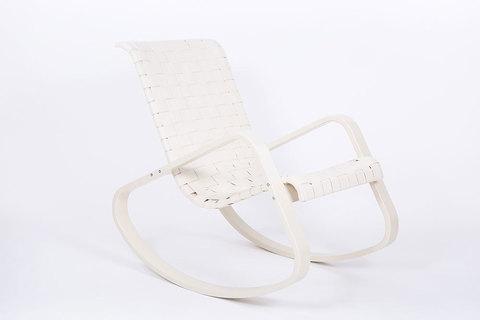 Кресло-качалка Дженни, экокожа