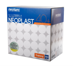 Мячи пластиковые Neottec Neoplast New Generation (ABS) 40+ (Seam)  (144 шт.)
