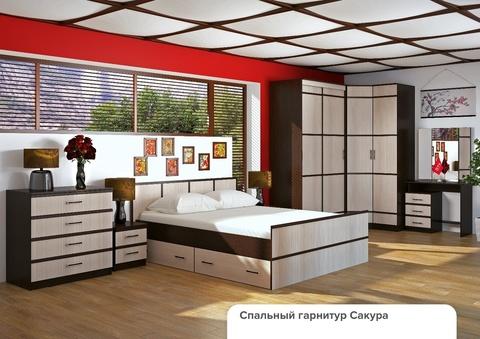 Спальня модульная Сакура-3