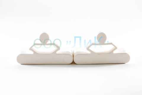 Латодержатель амортизирующий 68 мм., каучук, белый