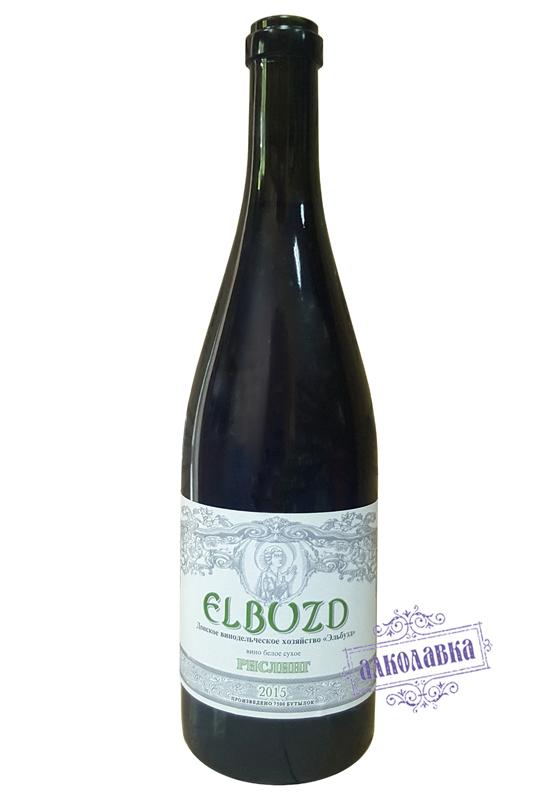 Вино Эльбузд Шардоне 2015г
