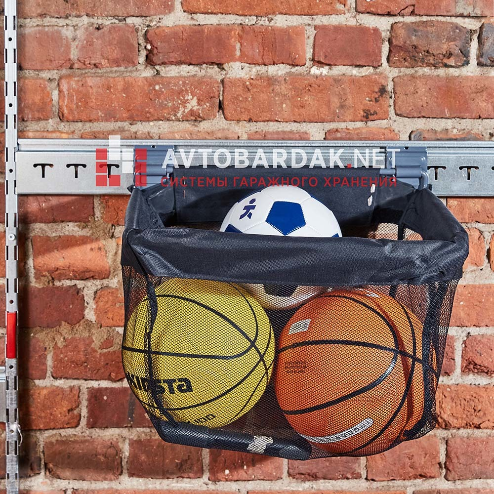 Тканевая корзина для хранения мячей GH15