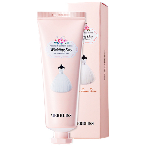 Крем для рук MERBLISS Wedding Day Rose Garden Hand Cream 50g
