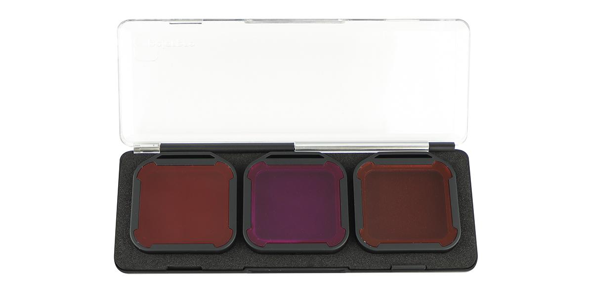 Набор фильтров PolarPro Aqua 3-Pack HERO 5/6/7 Black в контейнере