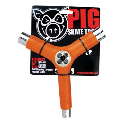 Ключ PIG Skate Tool (Orange)