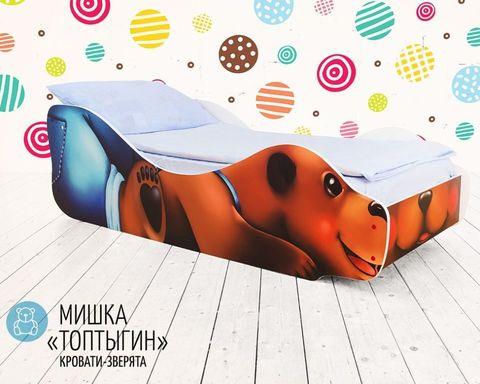 Кровать МИШКА-ТОПТЫГИН