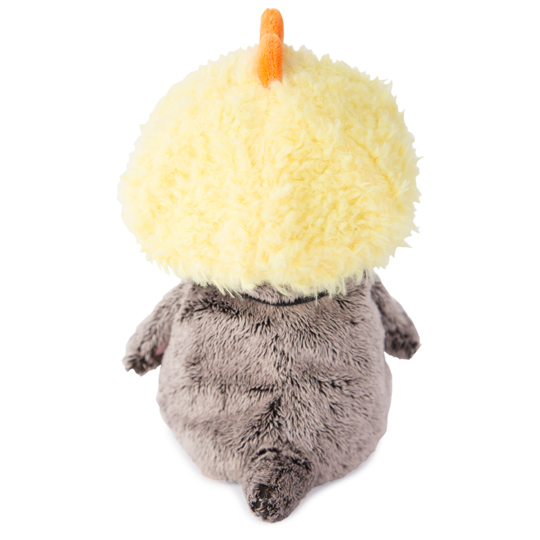Кот Басик Baby в шапке-цыпленок