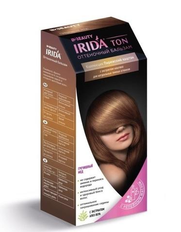 Irida Irida Ton Оттеночный бальзам для окраски волос Гречишный мед 2*25мл