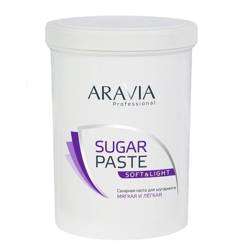 Паста сахарная Мягкая и легкая для депиляции 1500г Аравия