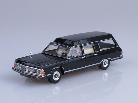 GAZ-14 Chaika RAF-3920 Ambulance black 1:43 Nash Avtoprom