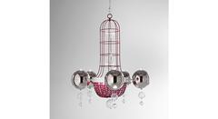 Italamp 2370 100 Red Nk — Потолочный подвесной светильник MANOJ
