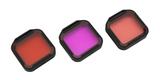Набор фильтров PolarPro Aqua 3-Pack HERO 5/6/7 Black внешний вид