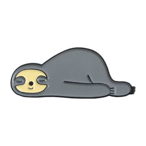 Значок, пін - Лінивець сонько