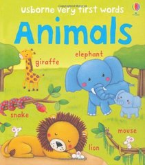 Very First Words: Animals (board book)