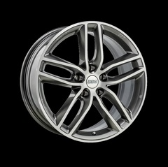 Диск колесный BBS SX 8x18 5x108 ET45 CB70.0 platinum silver/diamond cut