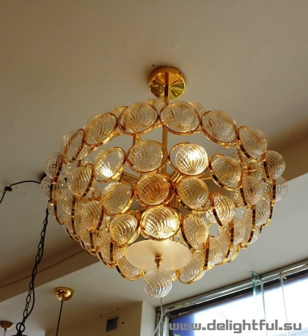 replica Atomos by Baroncelli Chandelier