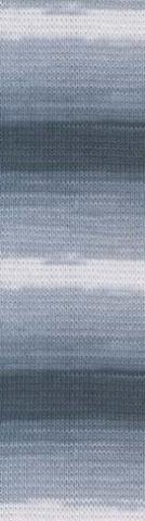 Пряжа Alize Cotton Gold Batik серый меланж 2905