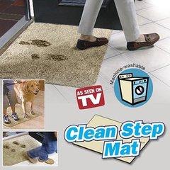 """Придверный коврик """"Ни следа"""" (Clean Step Mat/Клин Степ Мат)"""