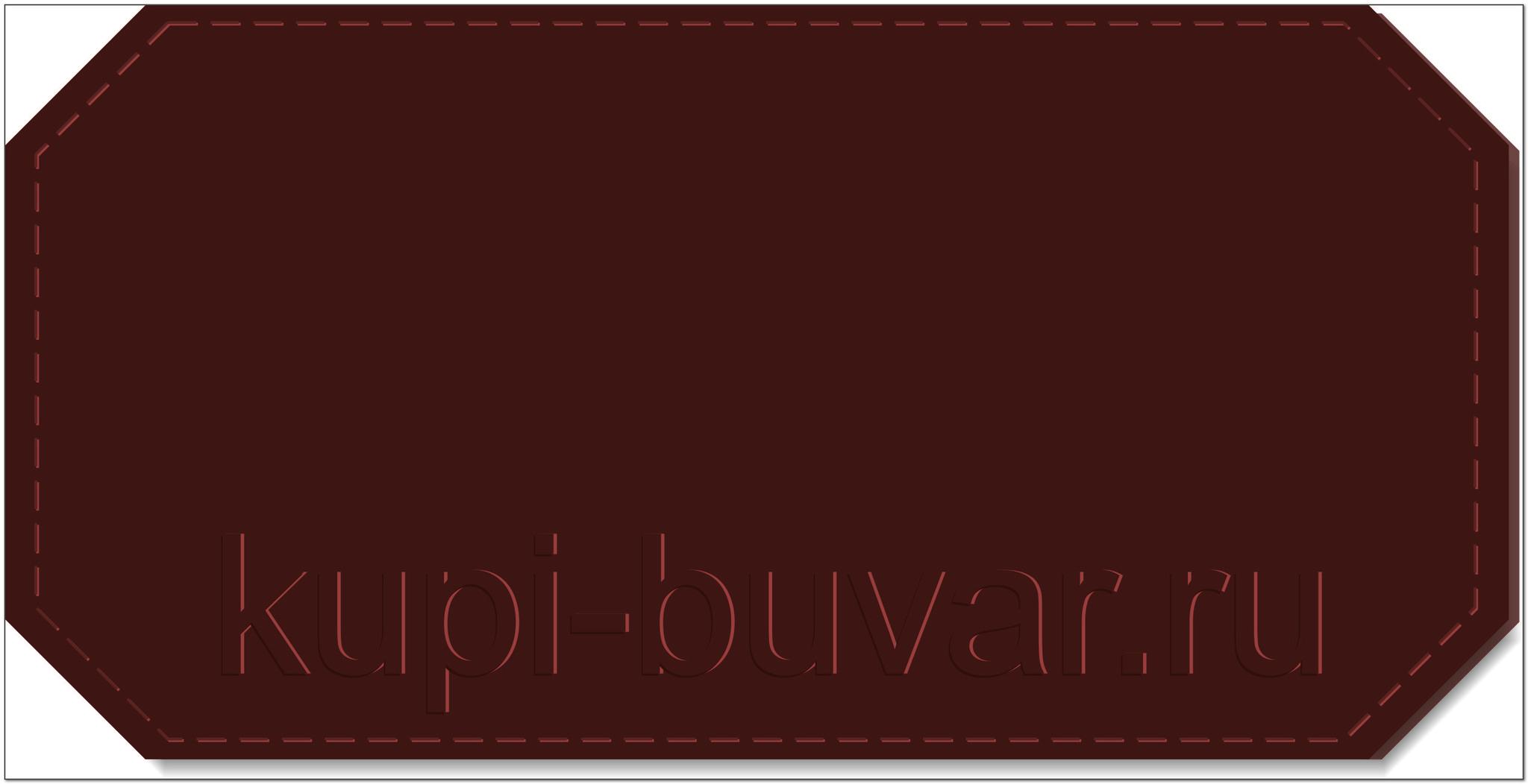 кожаный бювар - подложка на стол Неаполь-14