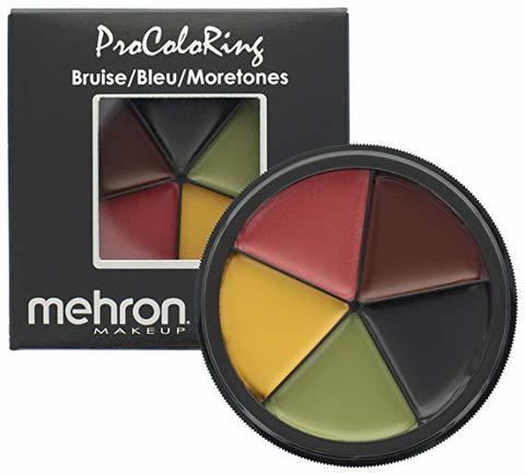MEHRON Палитра Pro ColoRing™ для имитации синяков и гематом, 30 г