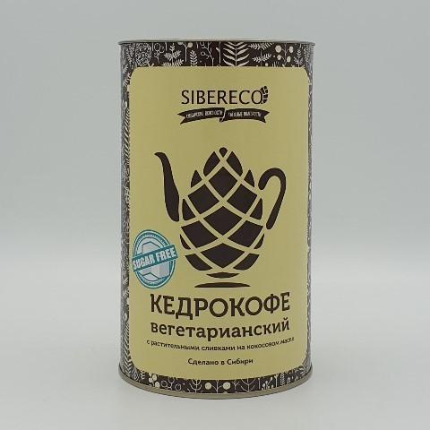 Кедрокофе вегетарианский на растительных сливках без сахара SIBERECO, 500 гр