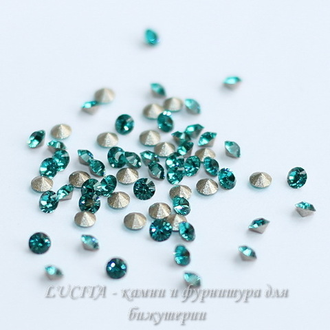 1028 Стразы Сваровски Blue Zircon PP 14 (2-2,1 мм), 10 штук ()