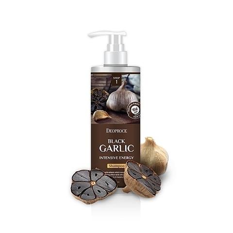 Deoproce HAIR BLACK GARLIC Шампунь для волос с экстр.черн. чеснока SHAMPOO - BLACK GARLIC INTENSIVE ENERGY 1000мл