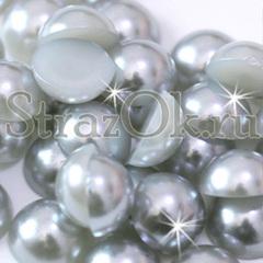 Купите полубусины Light Grey светло-серые в интернет-магазине StrazOK.ru