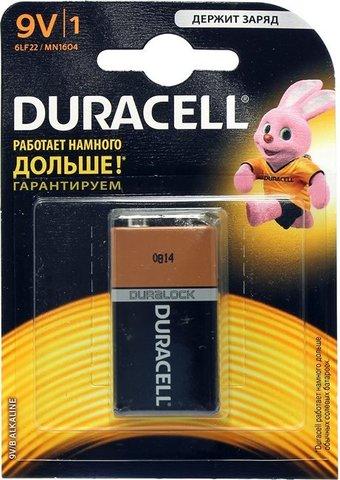 Батарейка Duracell 9v для Хрон-58