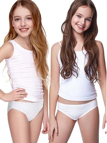 Белые трусики девочек