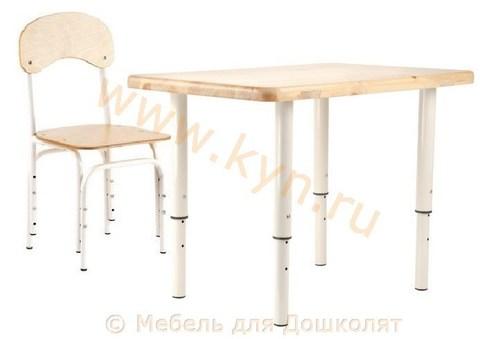 Набор стол со стульчиком Умка регулируемый 2-8